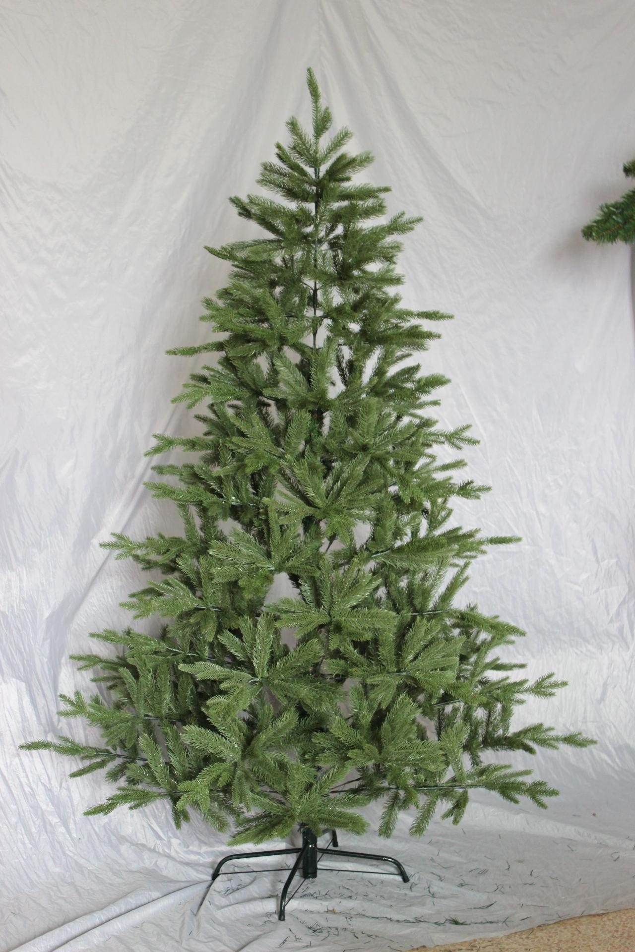 weihnachtsbaum 210 cm 887 ste pe spritzguss qualit t christbaum tannenbaum ebay. Black Bedroom Furniture Sets. Home Design Ideas