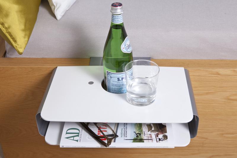 Ablage F?r Dusche Zum Einh?ngen : Details zu Nachttisch H?ngetisch Ablage Tisch Buchhalter f?r Tablet
