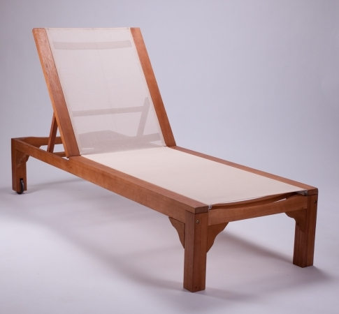 profiline holz liege benoni elfenbein sonnenliege hartholz. Black Bedroom Furniture Sets. Home Design Ideas