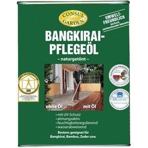 pflege l l f r bangkirai mahagoni 750ml hartholz terrasse. Black Bedroom Furniture Sets. Home Design Ideas