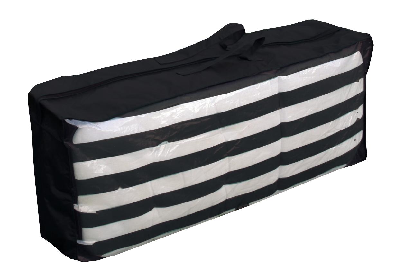 tragetasche f r 4 auflagen schutzh lle schutzhaube h lle anthrazit gartenm bel s ebay. Black Bedroom Furniture Sets. Home Design Ideas