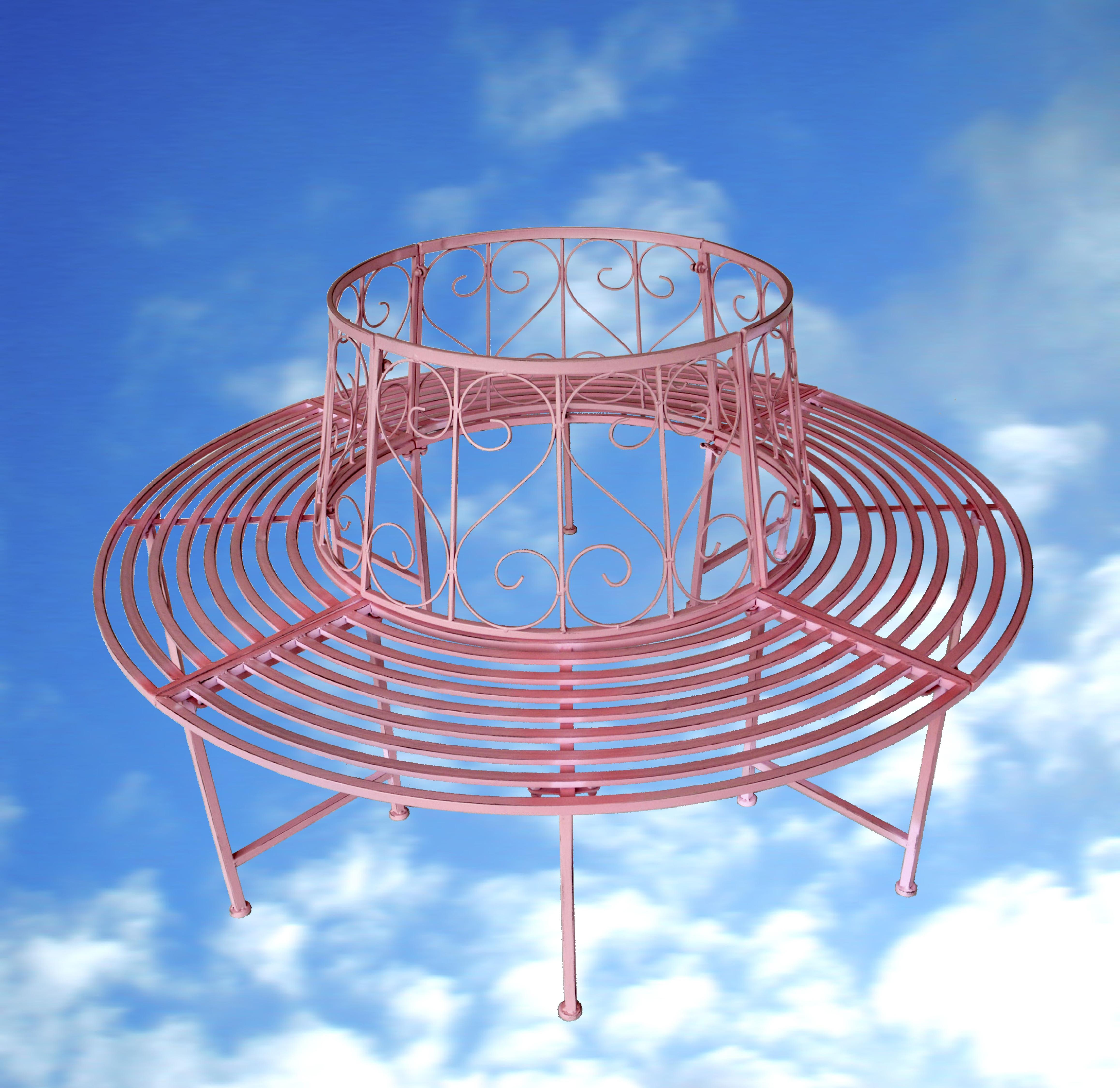 Fixias.com   Gartenbank Metall Pink_172647 ~ Eine interessante Idee ...