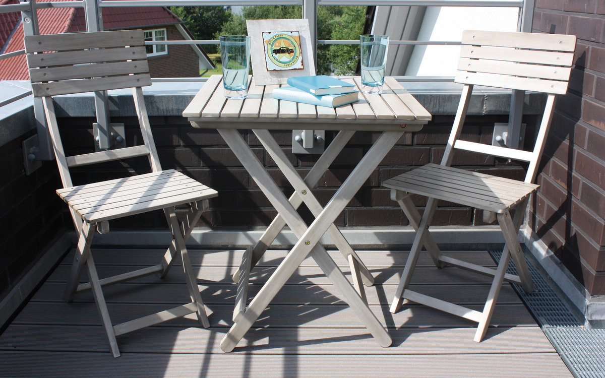 balkonset wien grey washed akazie holz 2 st hle 1 tisch gartenm bel garten stuhl 4008874256864. Black Bedroom Furniture Sets. Home Design Ideas