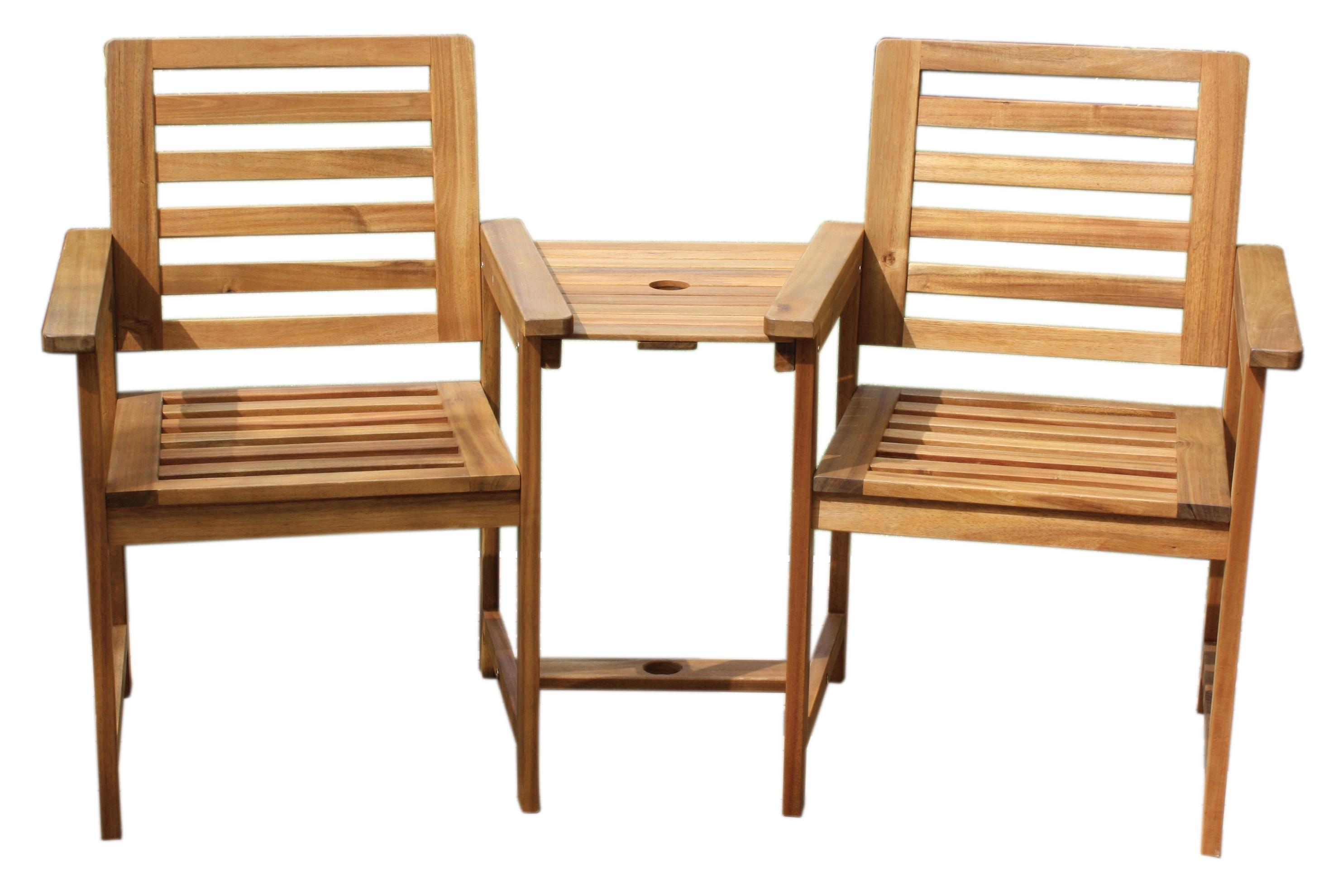 gartenbank tisch holzbank gartenstuhl lovechair sitzbank holz 2 sitzer companion ebay. Black Bedroom Furniture Sets. Home Design Ideas