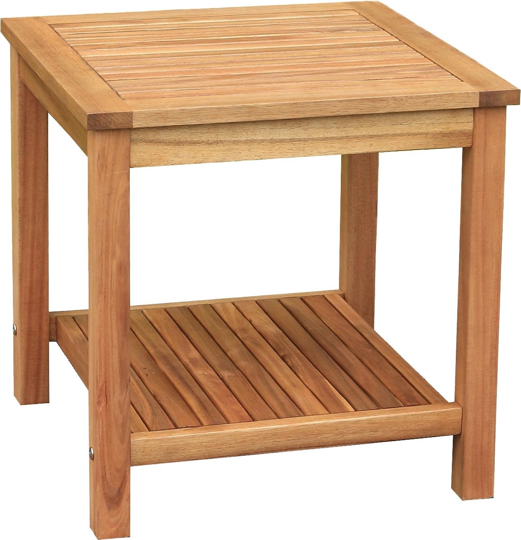 Gartenmobel Abdeckung Grau : Beistelltisch Holz massiv France Akazie Gartentisch Gartenmöbel Tisch