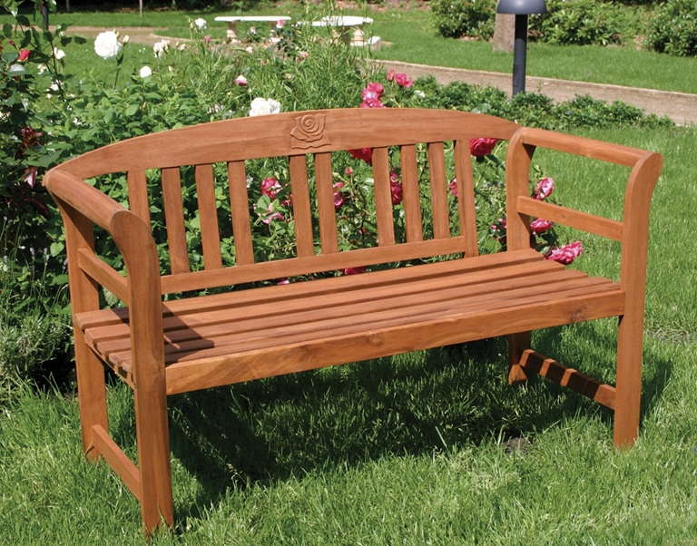 Gartenmobel Gartenregal Eisen : Gartenbank Holz Rose 2ER Bank Akazienholz Gartenmöbel Robust