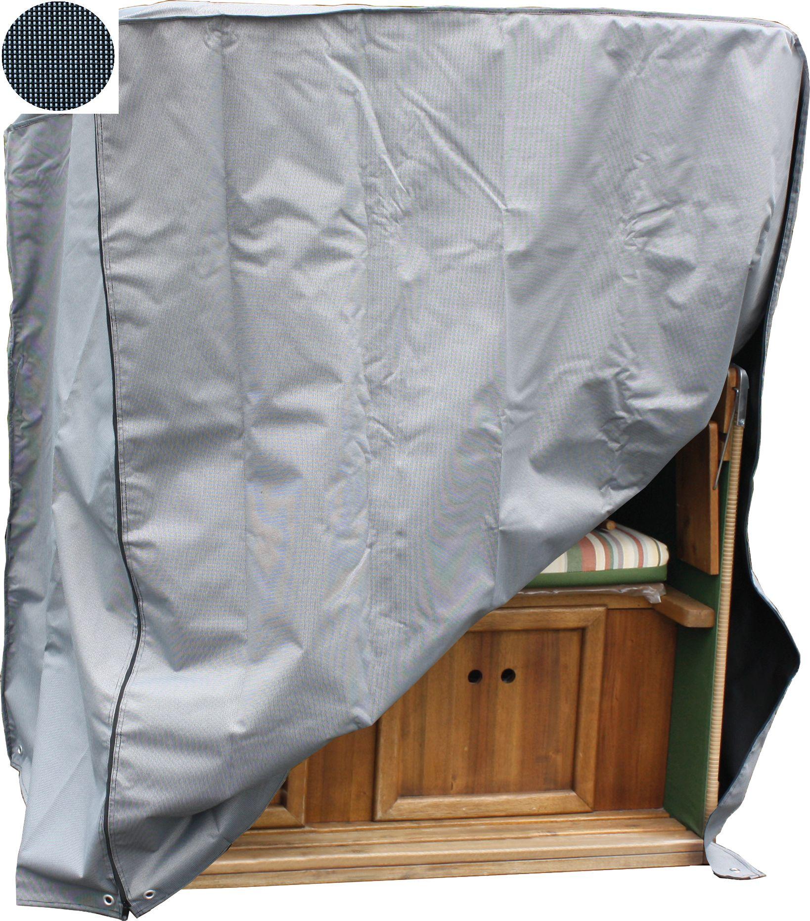 Schutzhülle Gartenmöbel Schutzplane Abdeckung Sitzgruppe Strandkorb Oxford-Tuch