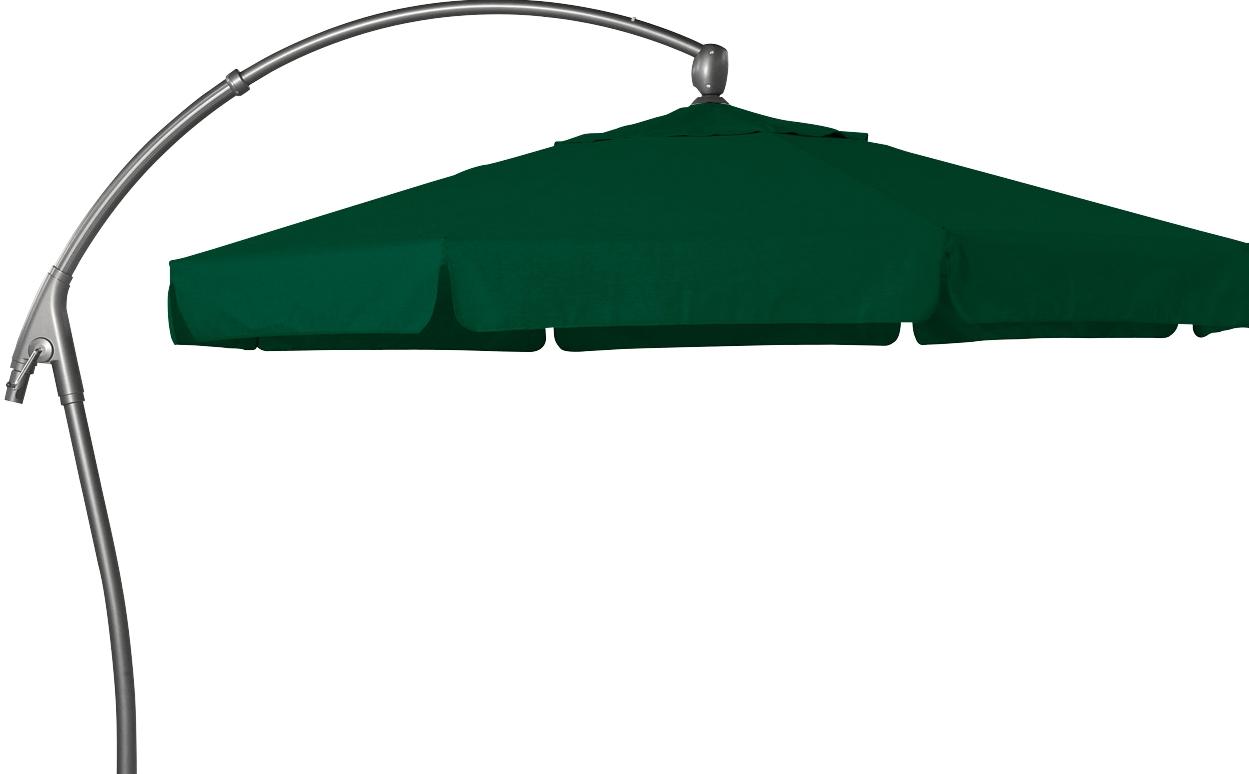 hartman alu ampelschirm 350 cm scope dunkelgr n sonnenschirm sonnenschutz alu te ebay. Black Bedroom Furniture Sets. Home Design Ideas