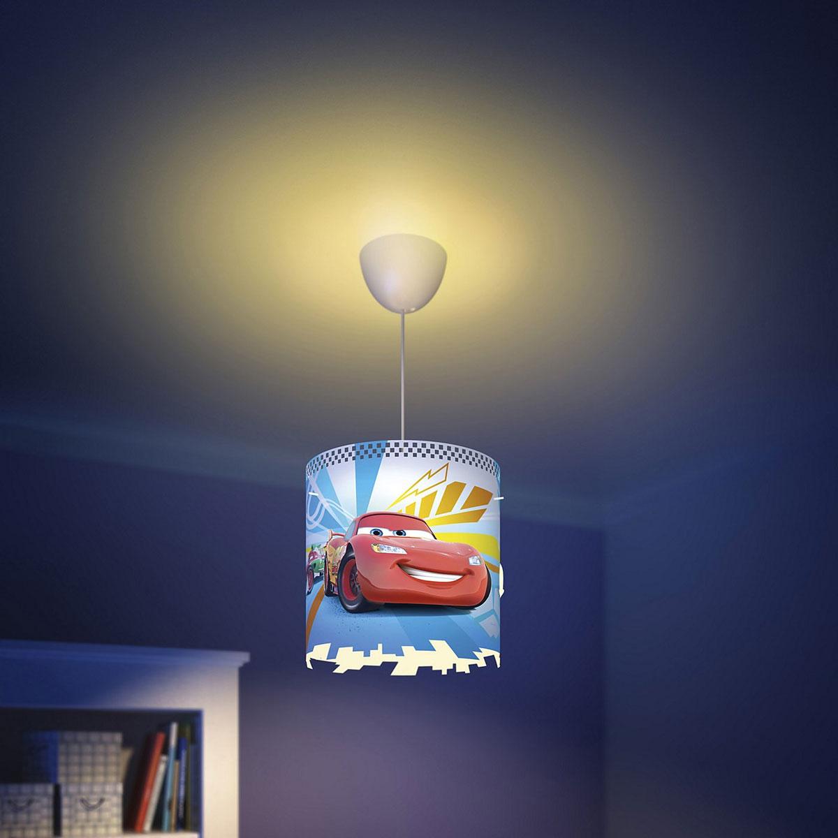 Philips Disney Deckenleuchte Cars Pendeleuchte Kinderzimmer Lampe ...