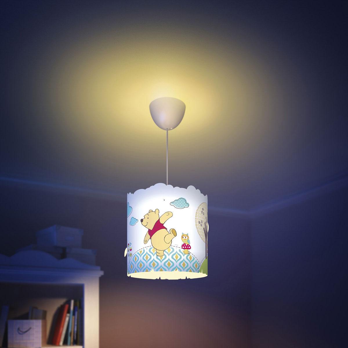 Philips Disney Deckenleuchte Winnie Pooh Pendelleuchte Kinderzimmer ...