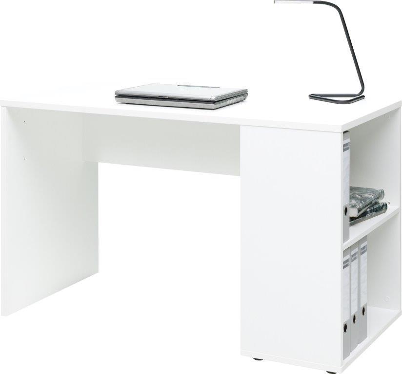 Schreibtisch weiss 120 x 73 x 53 cm tisch kinderzimmer for Schreibtisch schmal