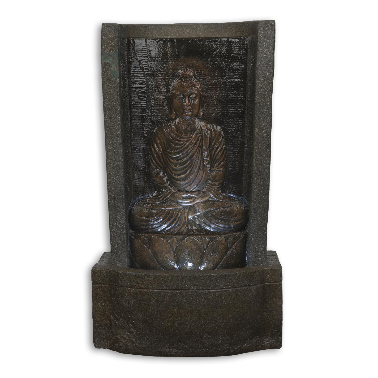 fontaine de jardin bouddha d corative d 39 int rieur en. Black Bedroom Furniture Sets. Home Design Ideas