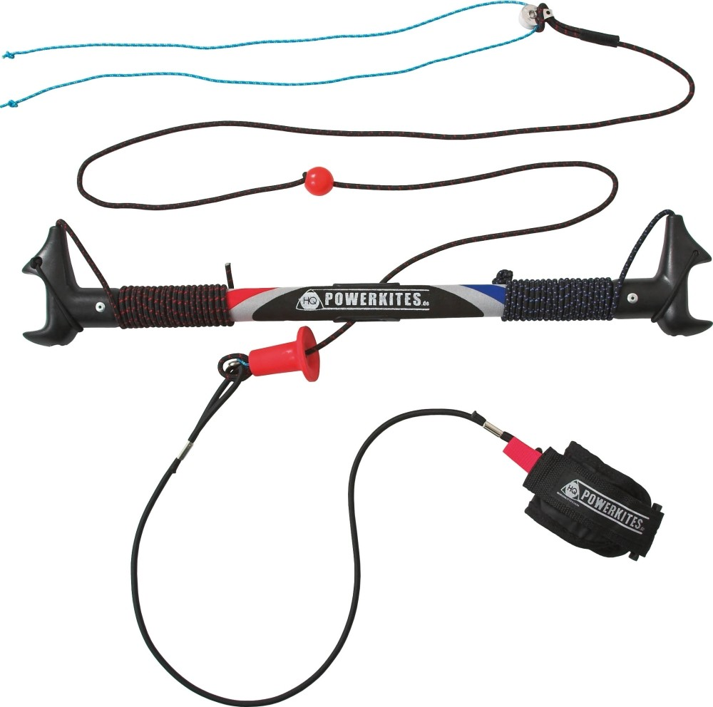 HQ Powerkites Safety Control Bar, 50 cm, inkl. Safety Leash f. z.B. HQ Beamer