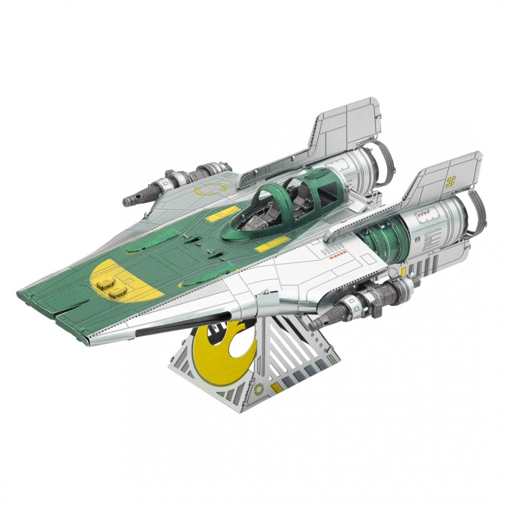 "Metal Earth STAR WARS ""Der Aufstieg Skywalkers"" Resistance A-Wing Fighter 2019 3D Figur Metallbausatz"