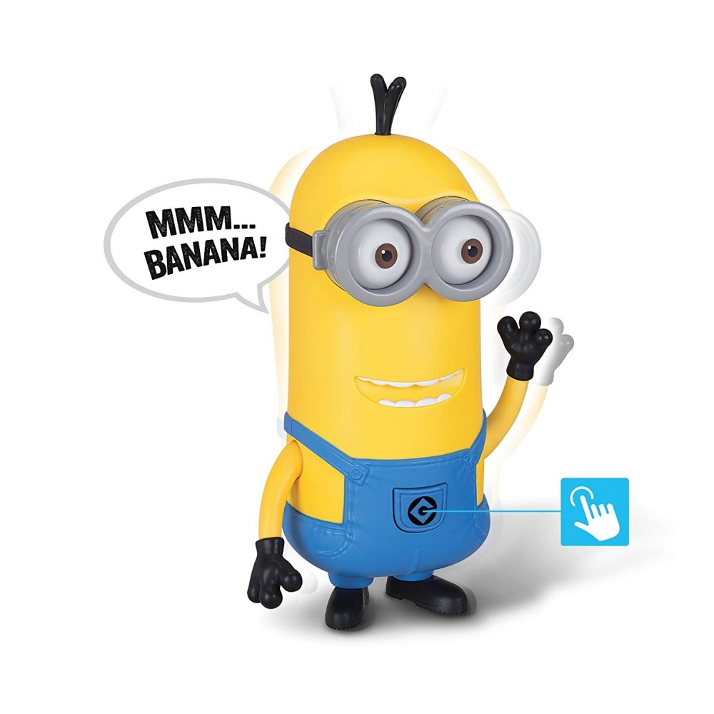 Minions Figur Talking Tim 25 cm mit Sound Despicable Me 3 Kunststoff