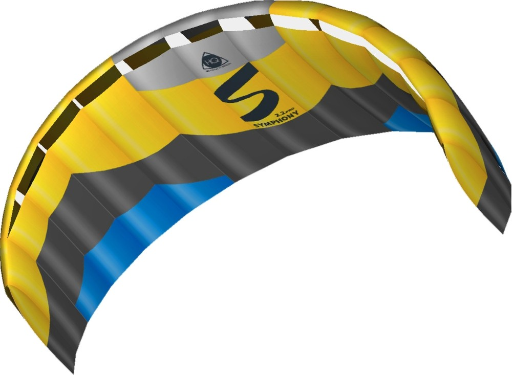 HQ Lenkmatte Symphony Pro 2.2 Edge R2F Allround Lenkdrachen Kite