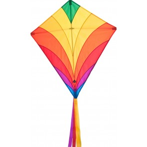 HQ Single Line Kite Kinderdrachen Eddy Rainbow Drachen Freizeit