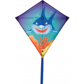 HQ Single Line Kite Kinderdrachen Eddy Sharky Hai Drachen Freizeit