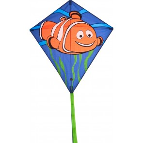 HQ Single Line Kite Kinderdrachen Eddy Clownfish Drachen Freizeit