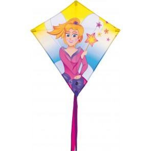 HQ Single Line Kite Kinderdrachen Eddy Princess Prinzessin Drachen Freizeit