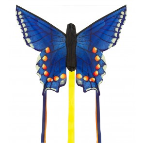 HQ Single Line Kites Einleiner Butterfly Kite Swallowtail blue R Schmetterling Drachen Freizeit
