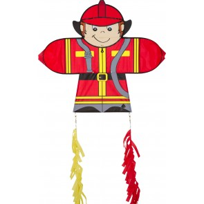 HQ Single Line Kites Lenkdrachen Skymate Kite Fireman Kinderdrachen