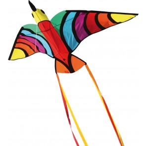HQ Single Line Kites Flying Kinderdrachen Creatures Tropical Bird Vogel Drachen Freizeit
