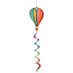 HQ Windspiel Hot Air Balloon Twist Mini Garten Dekoration