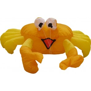 "HQ Windspiel Drachen Deko Bouncing Buddy ""Billy the Crab"" Garten Strand"