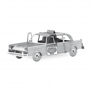 Metal Earth Checker Cab Taxi MMS007 3D Figur Metallbausatz