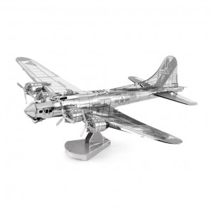 Metal Earth B-17 Flying Fortress Flugzeug MMS091 3D Figur Metallbausatz