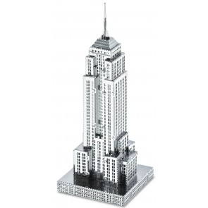 Metal Earth Metallbausatz 3D Puzzle Basteln Metall Figur Empire State Building