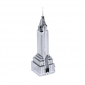 Metal Earth Chrysler Building Wolkenkratzer MMS009 3D Figur Metallbausatz
