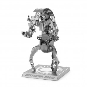 Metal Earth Star Wars Metallbausatz 3D Puzzle Basteln Metall Figur Destroyer Droid