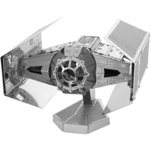Metal Earth STAR WARS Darth Vader's TIE Fighter Sternjäger MMS253 3D Figur Metallbausatz