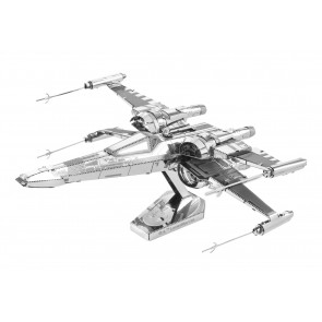 Metal Earth Star Wars Metallbausatz 3D Puzzle Basteln Metall Figur Poe Dameron's X-wing Fighter