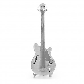 Metal Earth Electric Bass Guitar Elektrische Bass Gitarre MMS075 3D Figur Metallbausatz