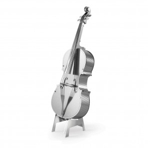 Metal Earth Bass Fiddle Bass Geige MMS081 3D Figur Metallbausatz