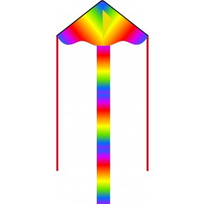 HQ Single Line Kites Kinderdrachen Einleiner Eco Line Simple Flyer Radiant Rainbow 85 cm Drachen Freizeit