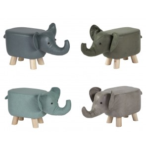 Tierhocker Kinderhocker Elefant - colourliving.de