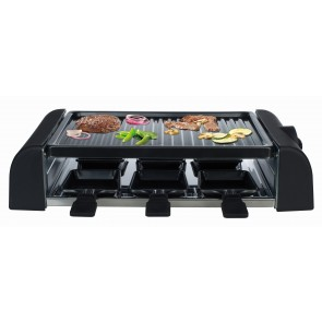 "Raclette Grill ""Raclette Friends"" Raclette- und Barbecuegrill Temperatureinstellung stufenlos"