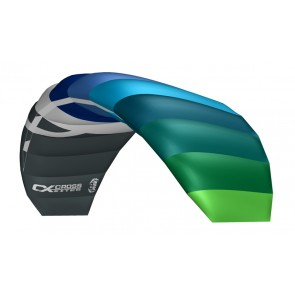 CrossKites Lenkmatte Air 2.1 Blue-Green R2F Allround Lenkdrachen Kite