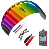 HQ Lenkmatte Symphony Beach III 2.2 Rainbow Bundle R2F Allround Lenkdrachen Kite