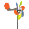 Windspiel Windrad Sun Dancer Flugzeug Aerodrop bunt 28cm Garten Dekoration Made in Germany