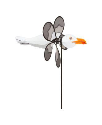 Windrad Windspiel HQ Spin Critter Seagull Gartendeko Propeller