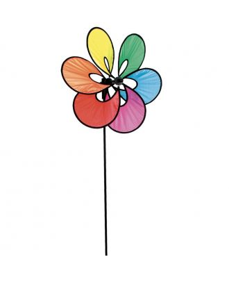 HQ Windspiel Paradise Flower Rainbow Blumen Garten Dekoration