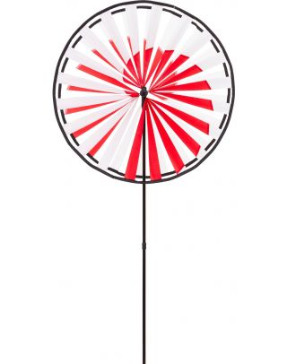 Windrad Windspiel HQ Magic Wheel Giant Duett Spiral mit Bodenanker Gartendeko Propeller