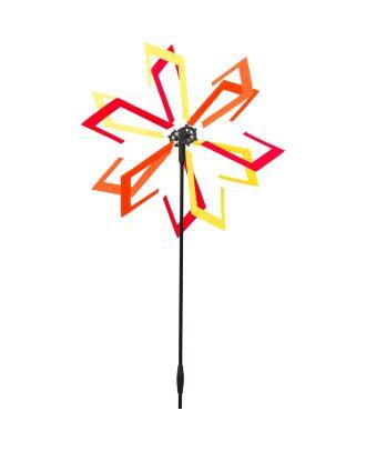 HQ Windspiel Design Line Windmill Arrowhead Dekoration Garten Windrad
