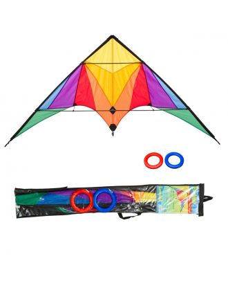 HQ Lenkdrachen Beginner Trigger Rainbow Drachen