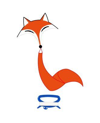 Kinderdrachen Einleiner Fox Kite Fuchs HQ Drachen